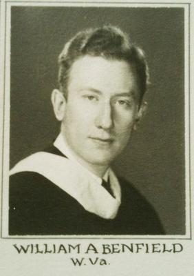 William Avery Benfield '39